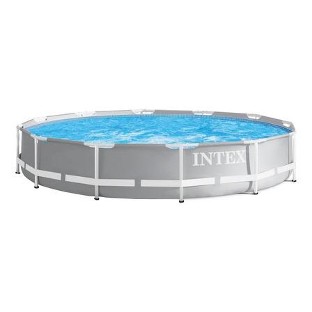 Alberca estructural redonda Intex 26710 con capacidad de 6503 litros de 3.66m de diámetro