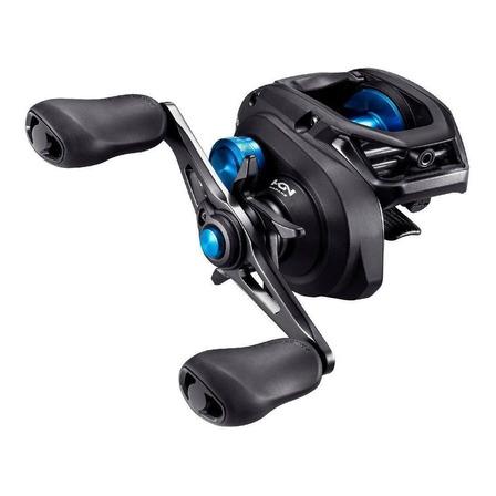 Reel rotativo Shimano SLX DC 150HG derecho color negro/azul