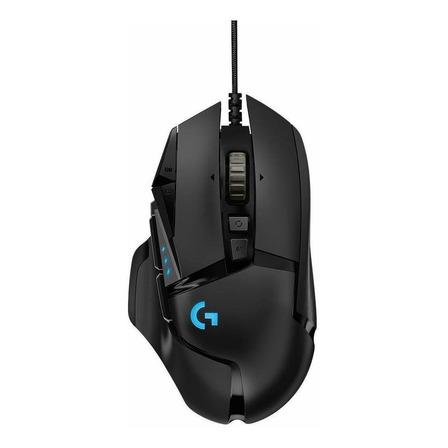 Mouse para jogo Logitech  G Series Hero 16K G502 preto