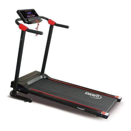 Cinta de correr eléctrica Enerfit 735 220V negra
