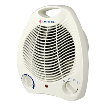 Calefactor eléctrico  caloventor Crivel CV-13  blanco 220V