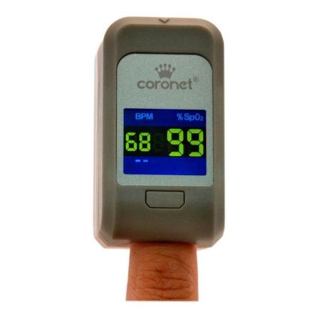 Oxímetro de pulso para dedo Coronet POD-2 gris