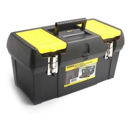 Caixa de ferramentas Stanley 19-013 de plástico 260mm x 489mm x 248mm preta