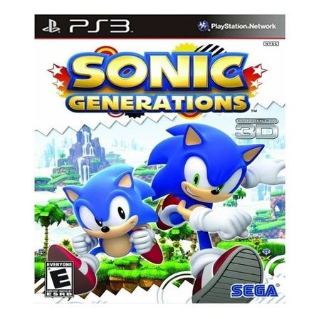 Sonic Generations Standard Edition SEGA PS3 Digital