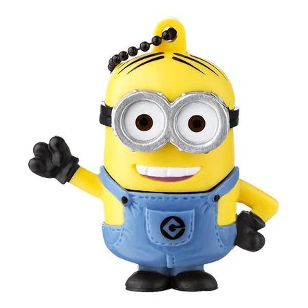 Pendrive Multilaser PD095 8GB 2.0 Minions Dave amarelo
