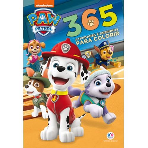 Patrulha Canina - 365 Atividades E Desenhos Para Colorir