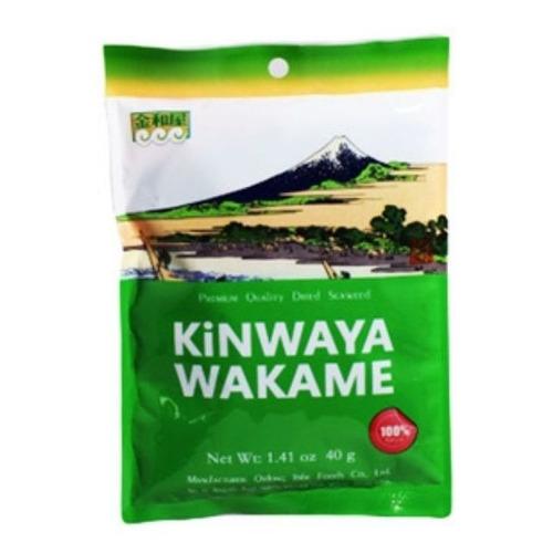 Algas Wakame Kinwaya X 40 G Apto Vegano