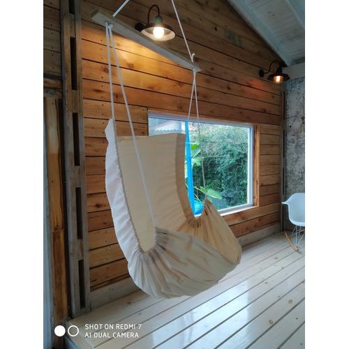 Hamaca Paraguaya Silla Colgante + Kit Instalación