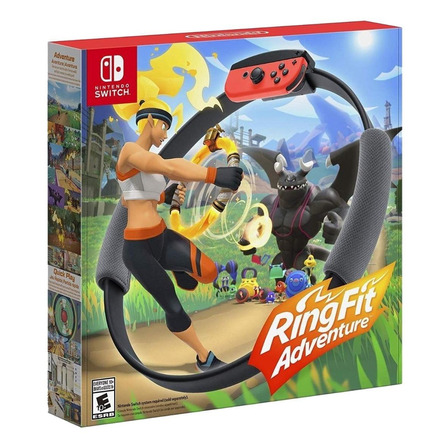 Ring Fit Adventures  Nintendo Switch Físico