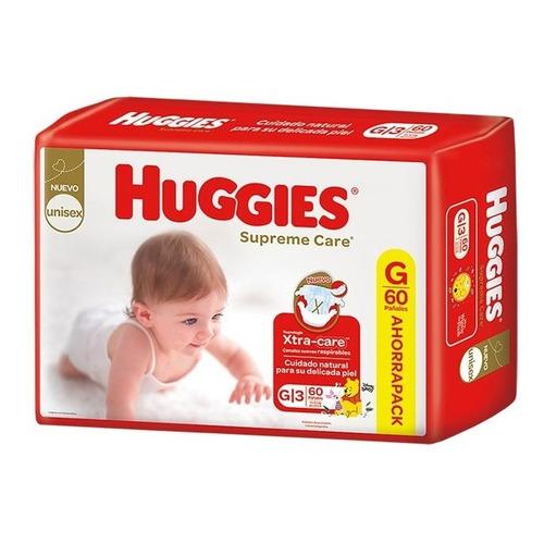 Pañales Huggies Supreme Care Ahorrapack Todos Los Talles