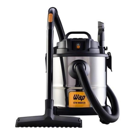 Aspirador de pó Wap GTW Inox 20 20L aço inoxidável e preto 220V