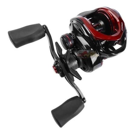 Carretel carretilha Marine Sports Titan Pro 12000 direito color preto/vermelho