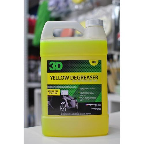 3d Yellow Degreaser Desengrasante Llantas Galon