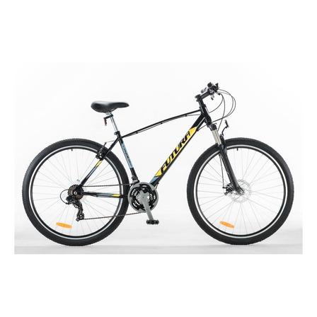 Mountain bike Futura Lynce R29 frenos v-brakes cambios Shimano color negro/amarillo