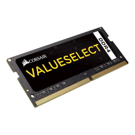 Memória RAM Value Select color Preto  16GB 1x16GB Corsair CMSO16GX4M1A2133C15