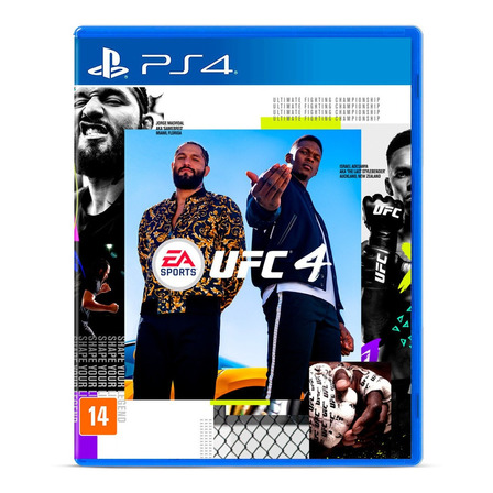 UFC 4 Standard Edition Electronic Arts PS4 Físico