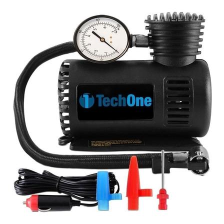 Compressor de ar mini Bateria portátil Tech One Compressor de Ar Automotivo 12V