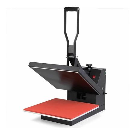 Estampadora sublimadora y transfer Policart 38x38  negra y roja 220V