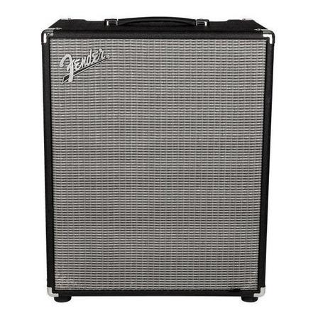 Amplificador Fender Rumble Series 500 Transistor para bajo de 500W color negro/plata 120V