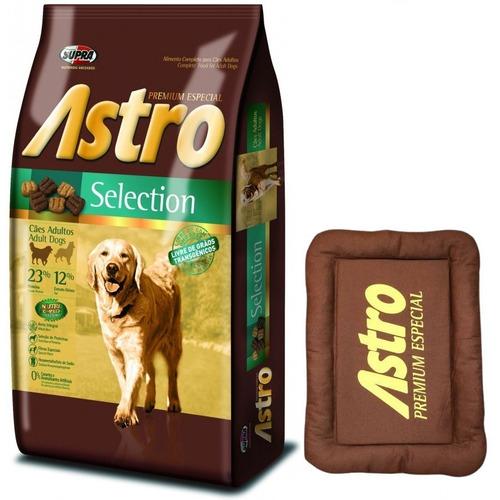 Comida Perro Astro Selection 17kg Con Colchoneta