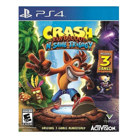 Crash Bandicoot: N. Sane Trilogy Standard Edition Activision PS4 Digital