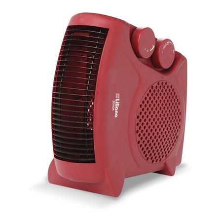 Calefactor eléctrico  caloventor Liliana CFH500  rojo 220V - 240V