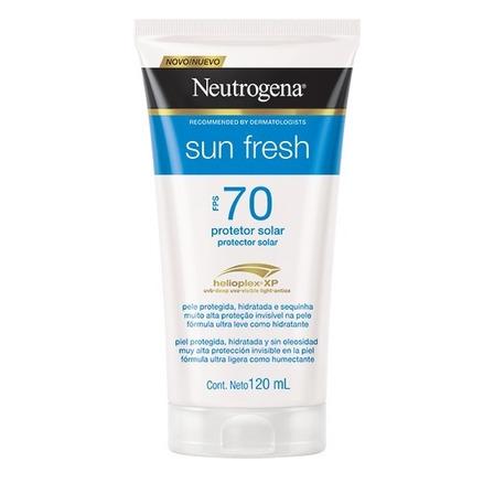 Protetor solar Neutrogena Sun Fresh  FPS70 120 ml