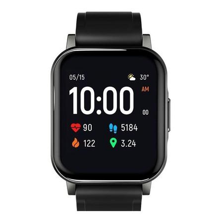 "Smartwatch Haylou Smart Watch 2 1.28"" pulseira  black de  silicone LS02"