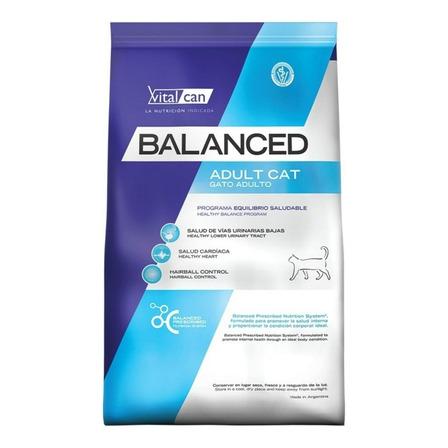 Alimento Vitalcan Balanced para gato adulto sabor mix en bolsa de 7.5kg