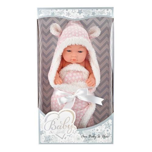 Muñecas Baby So Lovely - Bebe Real Recien Nacida 30 Cm