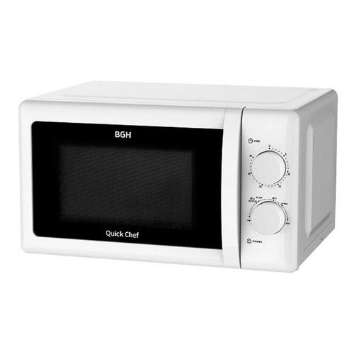 Microondas BGH Quick Chef B120M20   blanco 20L 220V