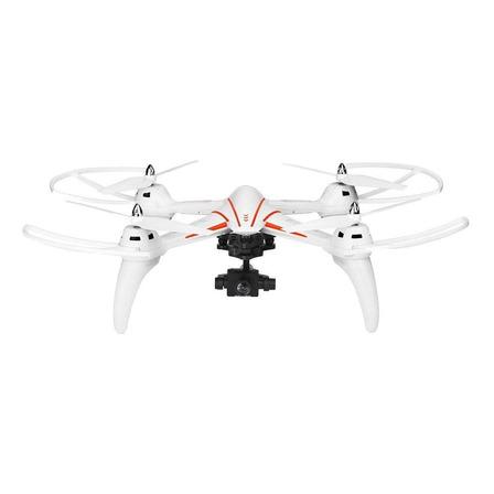 Drone WLtoys Q696-E com câmera HD white