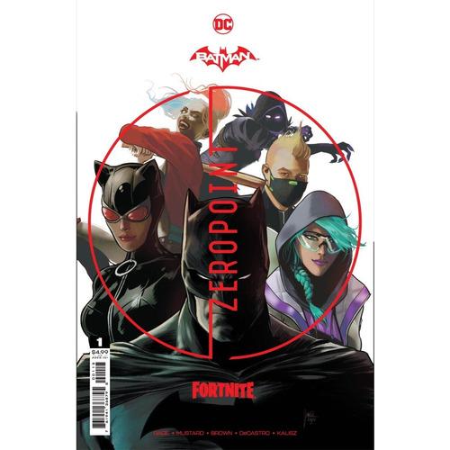 Comic Batman Fortnite Zero Point #1 Incluye Código Skin