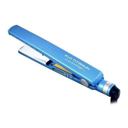 Chapinha de cabelo LavinnHair Pro Elo Titanium azul 110V/220V