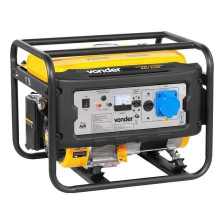 Gerador portátil Vonder GGV 3100 3100W monofásico com tecnologia AVR 110V/220V