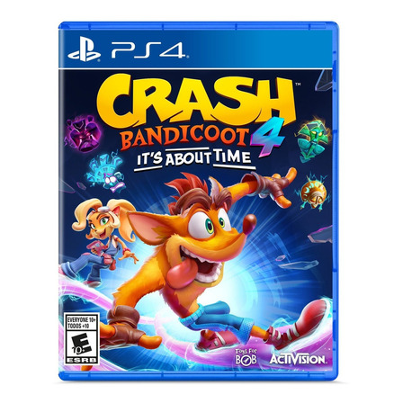 Crash Bandicoot 4: It's About Time Standard Edition Activision PS4 Físico