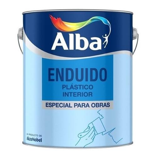 Enduido Plastico Para Interior Alba X 20 Lts.