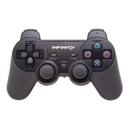 Controle joystick sem fio Infinity Controle Analógico Sem Fio preto