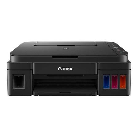 Impressora a cor multifuncional Canon Pixma G2110 preta 220V