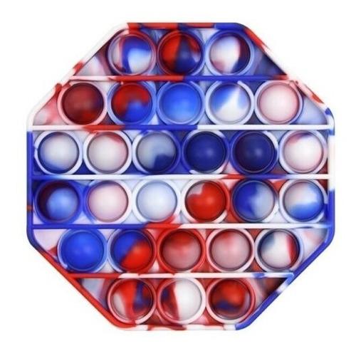 Pop It Fidget Toy Juego Antiestrés Multicolor Arcoiris