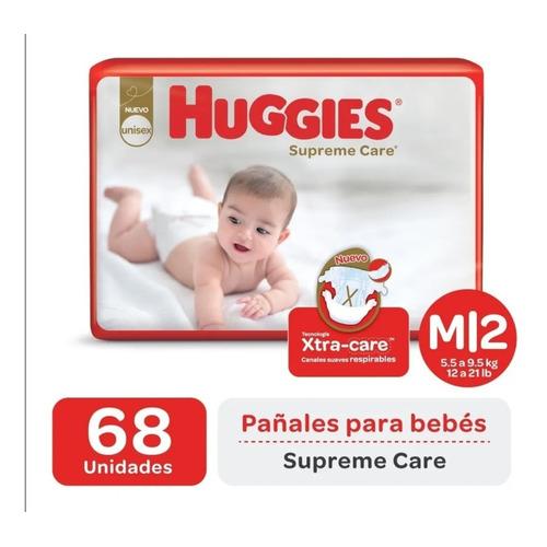 Pañales Huggies Supreme Care Ahorrapack M/g/xg/xxg