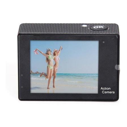 Câmera sportiva Amvox ADC 840 4K NTSC/PAL preta