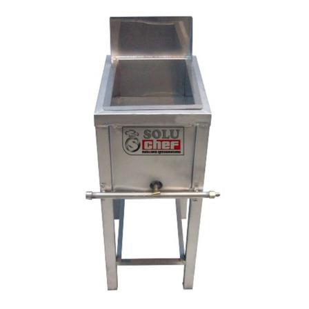 Freidora industrial a gas Soluchef FR00145 5L plata