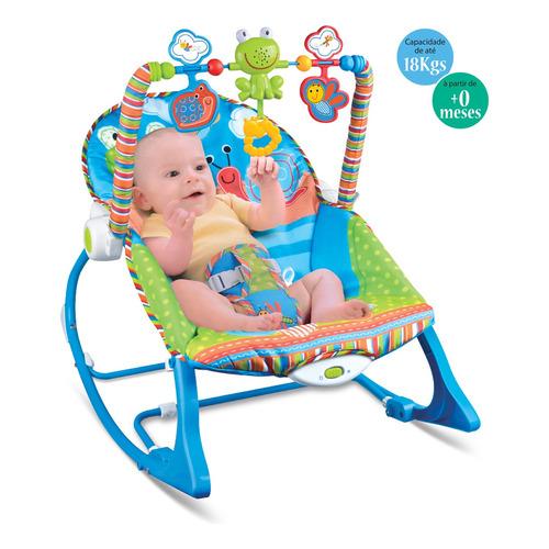 Cadeirinha Descanso Bebe Musical Maxi Baby Até 18kgs