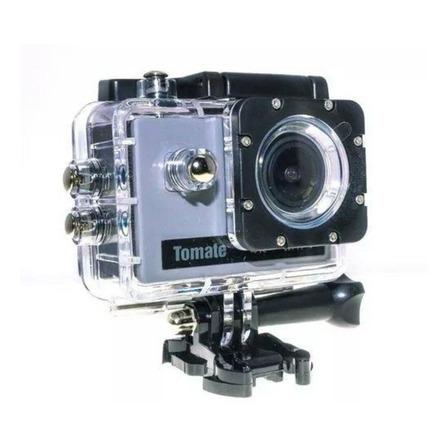 Câmera sportiva Tomate MT-1091K 4K prateada