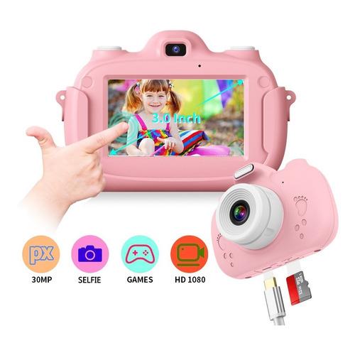 Cámara Digital Video Niño Niña 32gb Lente 1080p