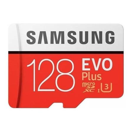 Cartão de memória Samsung MB-MC128GA/AM Evo Plus com adaptador SD 128GB
