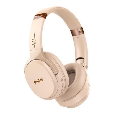 Fone de ouvido sem fio Philco Wave PFO01B bege