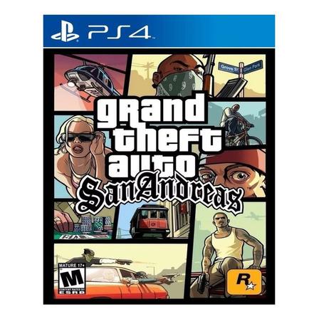 Grand Theft Auto: San Andreas Rockstar Games PS4 Digital