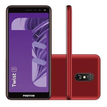 Positivo Twist 3 S513 Dual SIM 32 GB vermelho 1 GB RAM